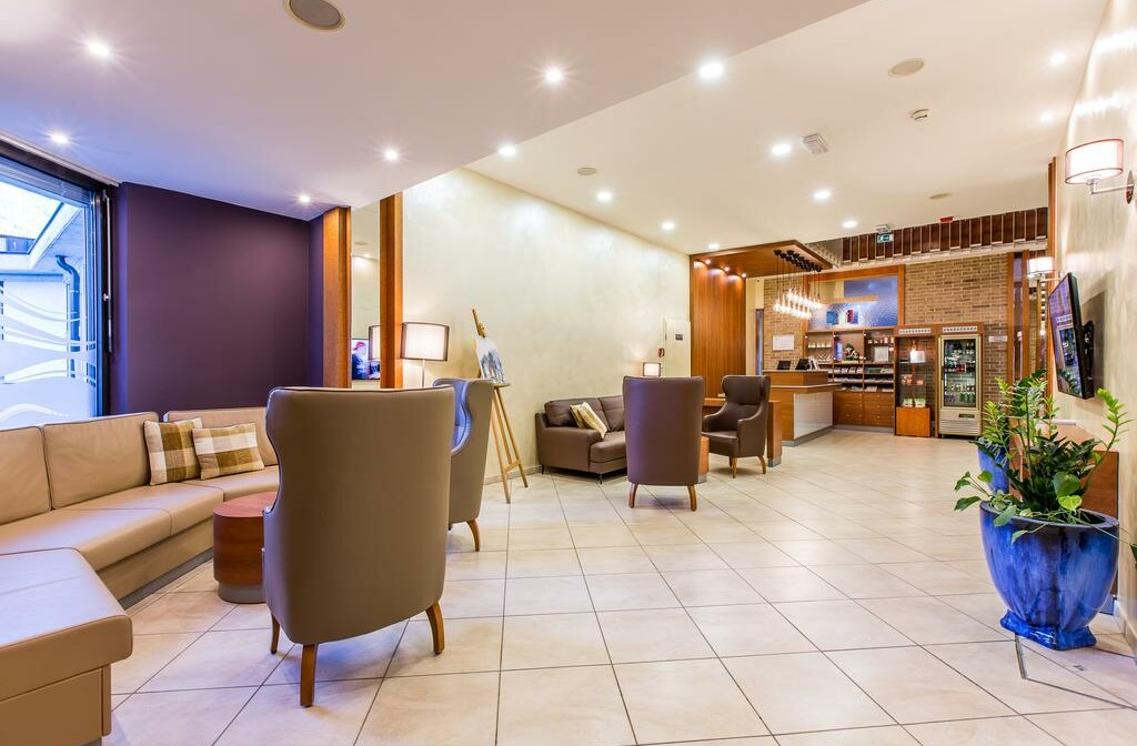 Slovenija, Best Western hotel Kranjska Gora, skijanje, recepcija hotela