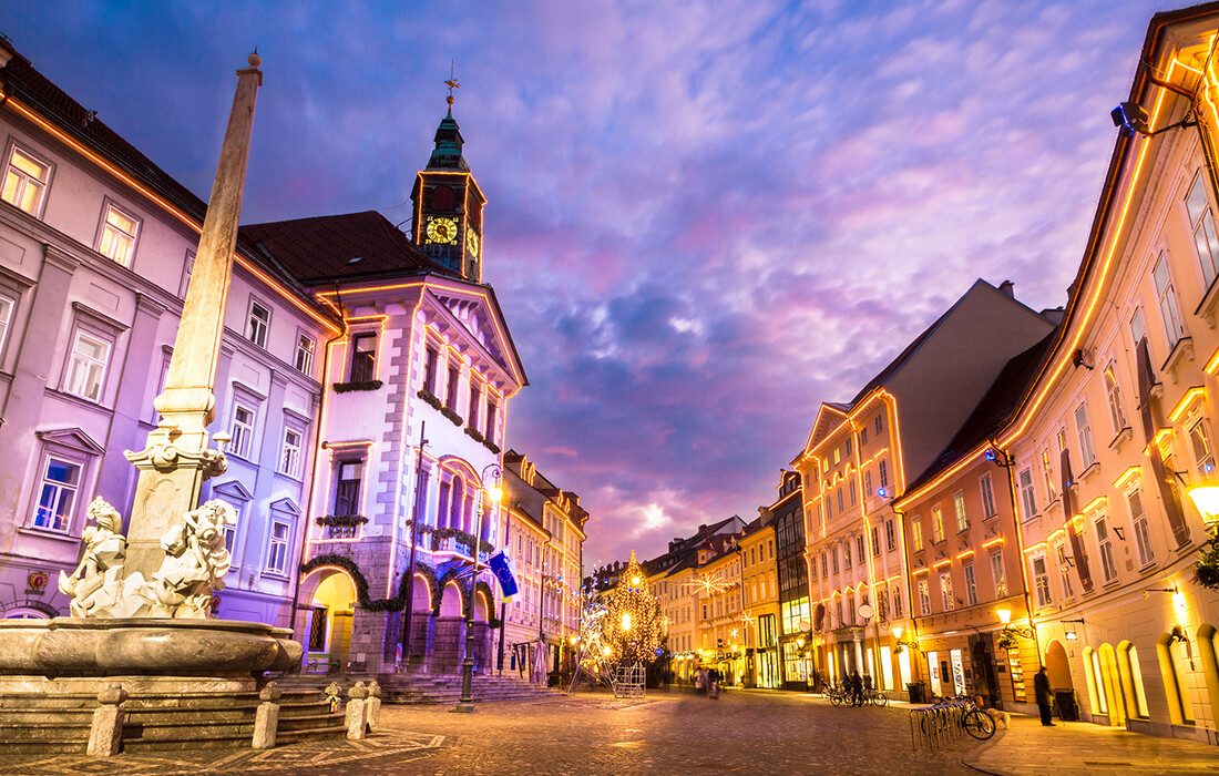 Ljubljana, Advent