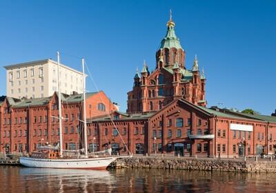 Crvena katedrala Uspenski u Helsiniji, putovanje Helsinki, Skandinavija, Mondo travel