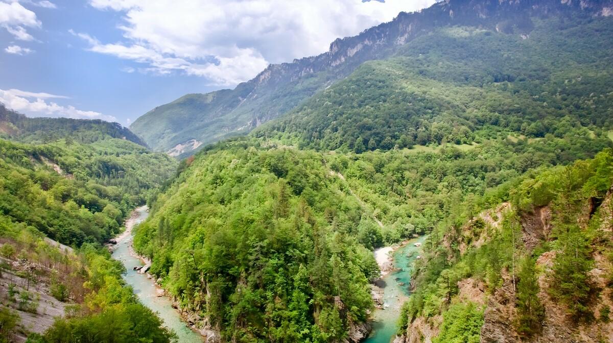 skadarsko jezero, Crna Gora, putovanje autobusom