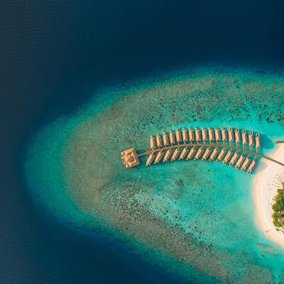 odmor na maldivima, Maldivi, Kudafushi Resort & Spa, panorama