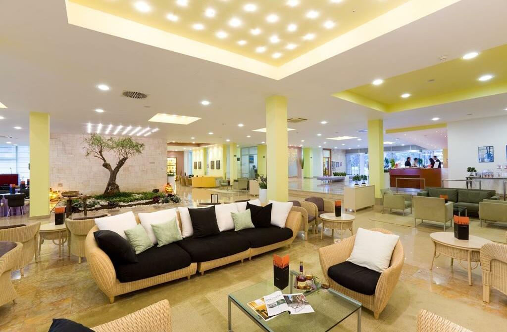 Umag, Hotel Sol Aurora, lobby