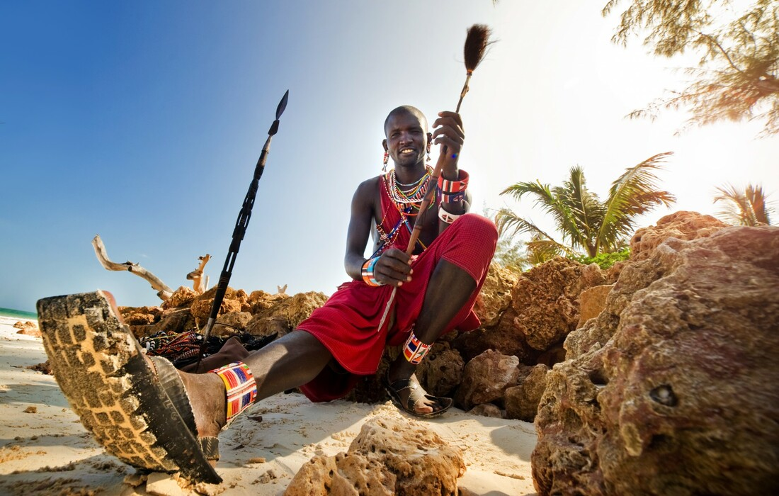 Kenija - Maasai