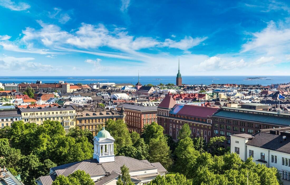 Panorama Helsinkija, putovanje Finska, Skandinavija zrakoplovom, garantirani polazak