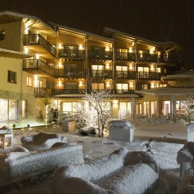 Skijanje u Italiji, skijalište Folgaria, Blu Hotel Natura & Spa, zimski ugođaj