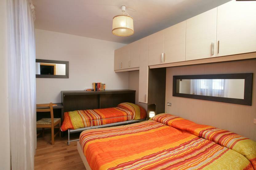 Skijanje u Italiji, skijalište Andalo / Paganella, Andalo, Apartmani Viola, spavaća soba