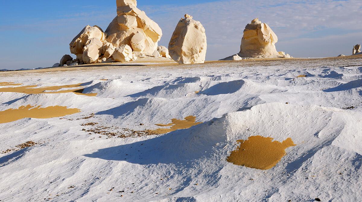Bijela pustinja, putovanje Egipat, ljetovanje, mondo travel, garantirani polasci