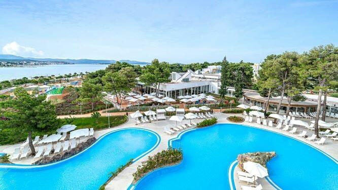 Solaris, Hotel Jakov, panorama