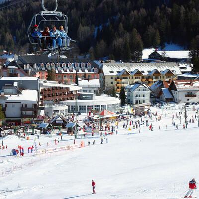 Slovenija, skijanje slovenija, Kranjska Gora skijalište i hoteli