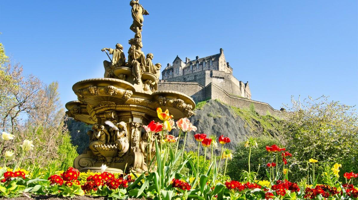 Škotska, Edinburgh Castle