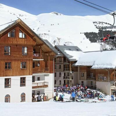 Francuska, skijanje, Les Sybelles, Résidence Prestige L'Orée des Pistes, pogled izvana