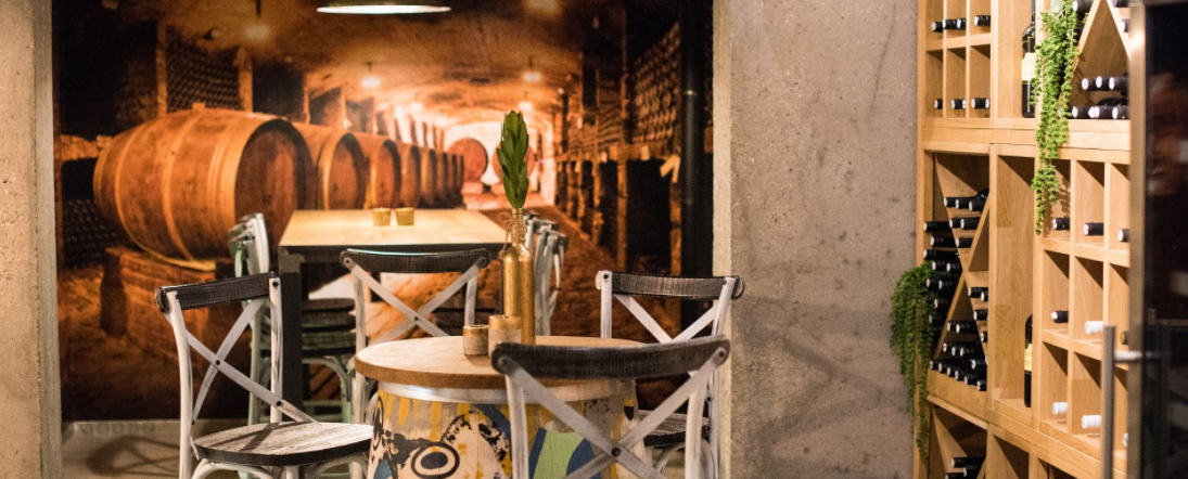 Cakovec, hotel Castellum, vinski podrum