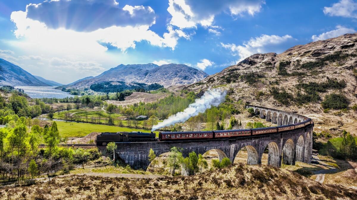 Vijadukt Glenfinnan, putovanje u Škotsku