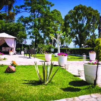 Lefkas, Ligia, Villa Olga Lounge Hotel