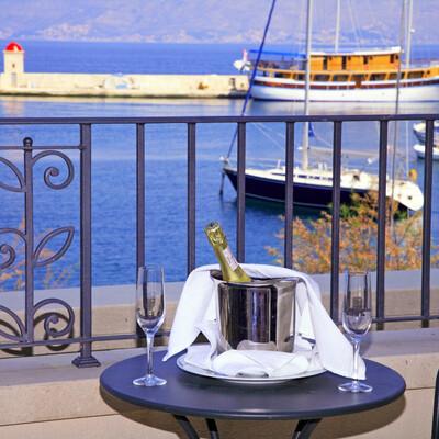 Hotel Lipa, balkon