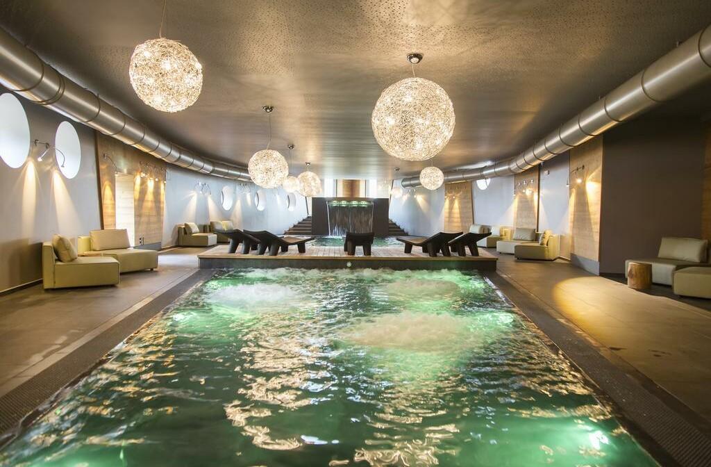Skijanje u Italiji, Asiago, Linta Hotel Wellness & Spa, unutarnji bazen