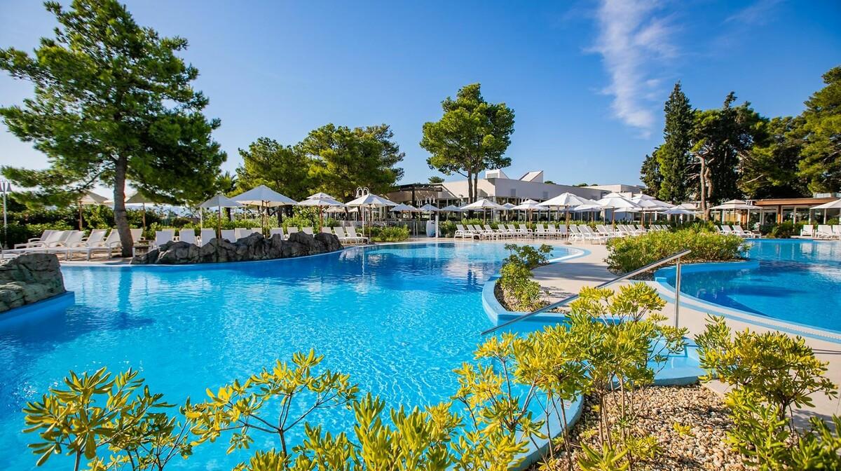 Solaris, Hotel Jakov, vanjski bazen