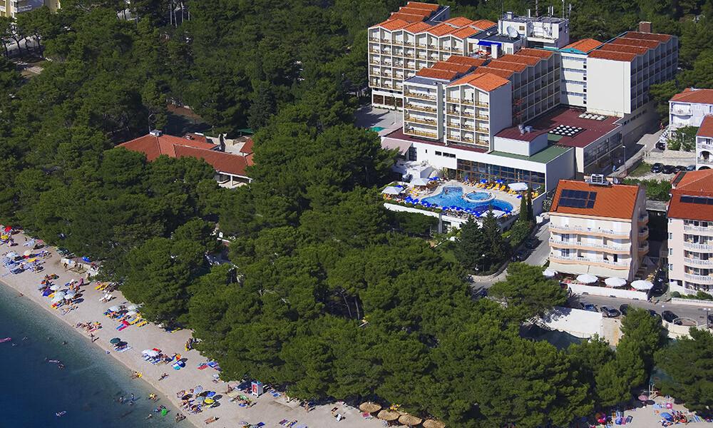 Baška Voda, Hotel Horizont, panorama