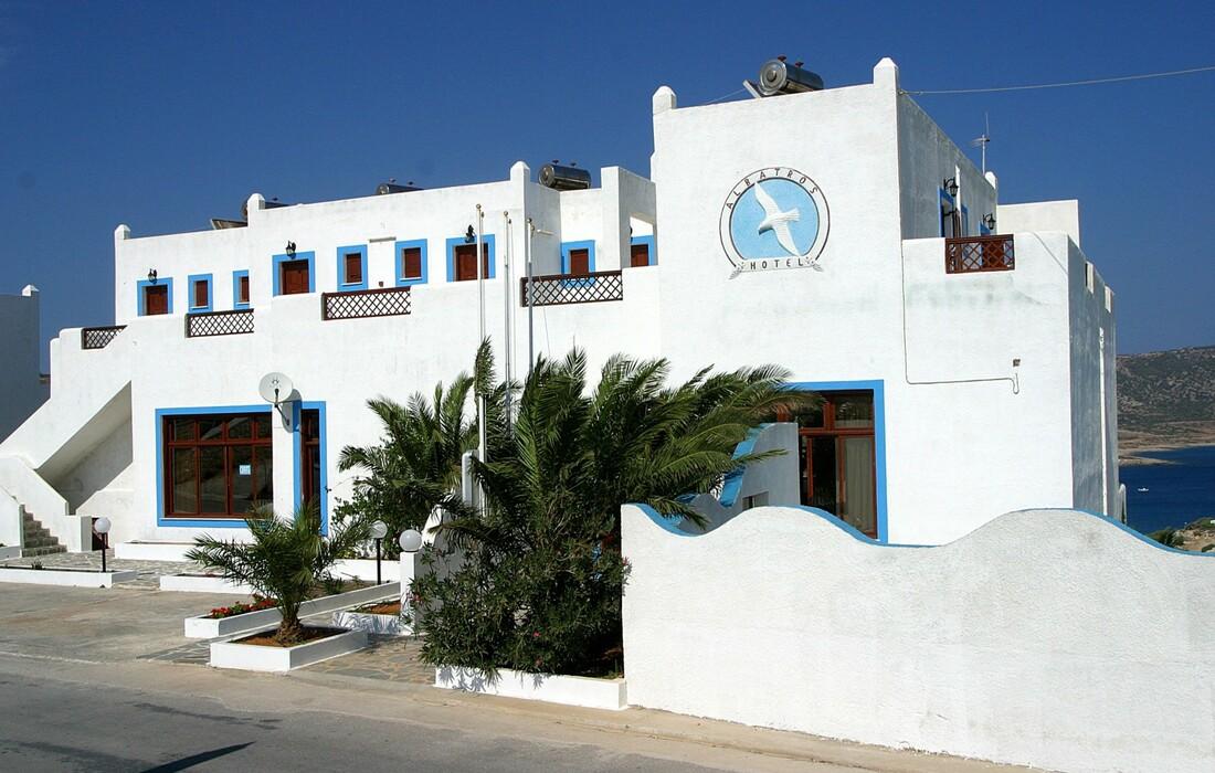 Karpatos, Amoopi, Hotel Albatros