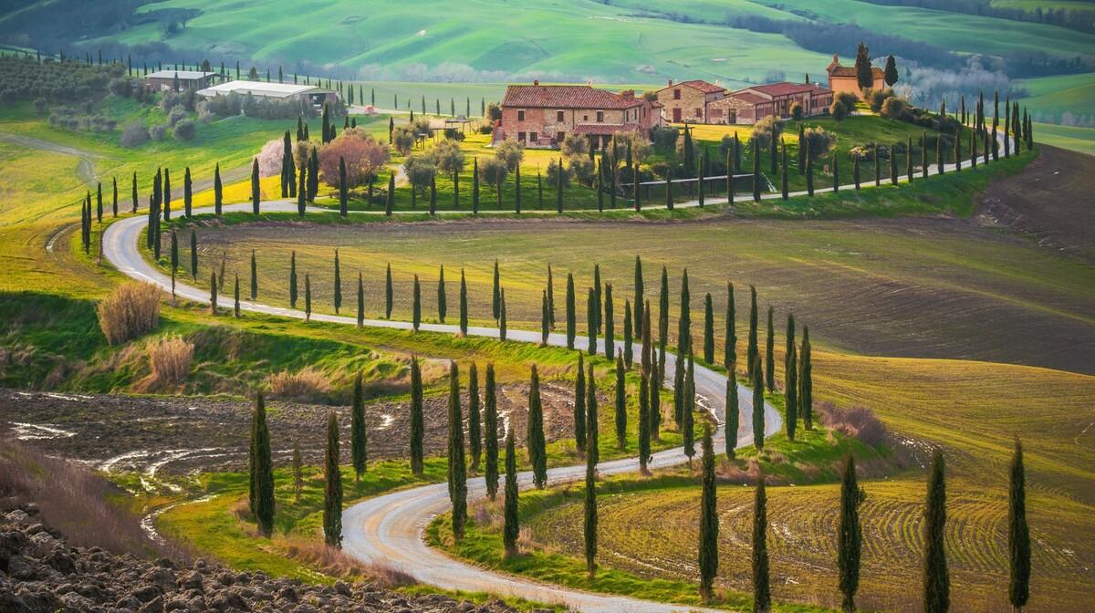 Bajkoviti brežuljci Toskane, putovanje u Toskanu, mondo travel