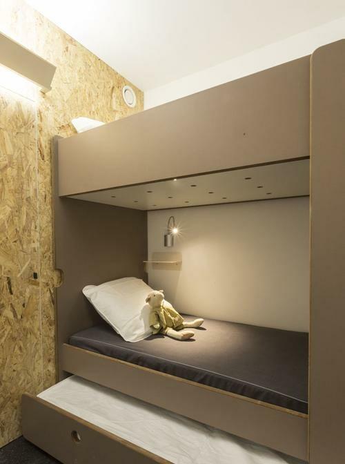 Skijanje Francuska, Les Arcs 2000, Apartmani Le Varet, spavaća soba