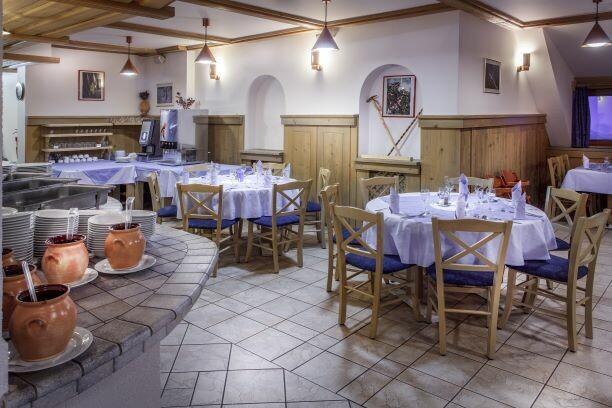 Krvavec Hotel restoran, skijanje