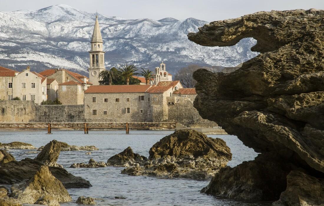 Crna Gora, Budva po zimi, putovanje autobusom, Mondo travel