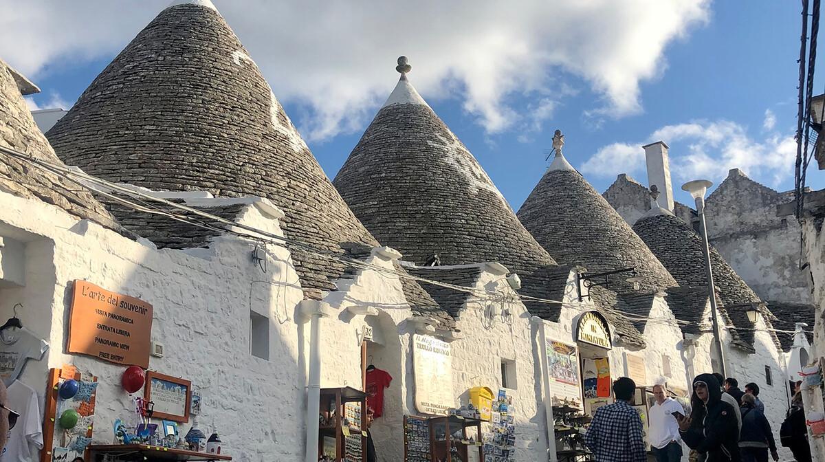 Putovanje Apulija i Basilicata, Alberobello i tradicionalni trulliji