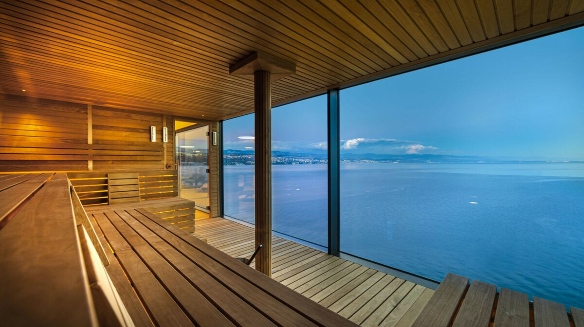 Opatija, GH Adriatic, sauna s pogledom