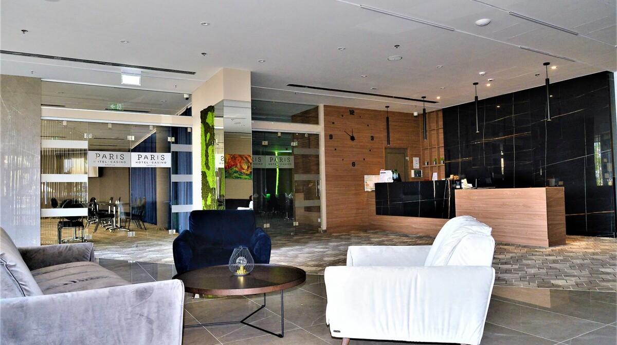 Opatija, Hotel Paris, Reception&lobby