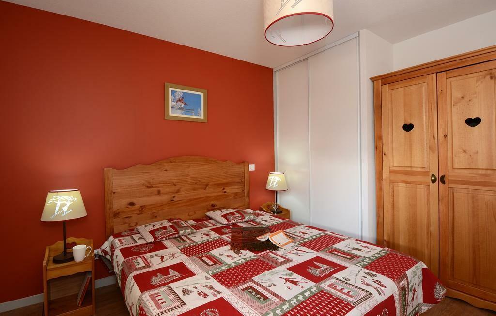 Skijanje u Francuskoj, Les 2 Alpes, Residence L'Ours Blanc, spavaća soba.