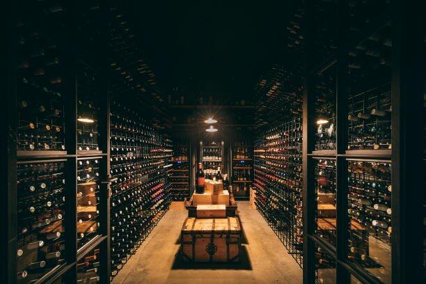 San Canzian, vinski podrum