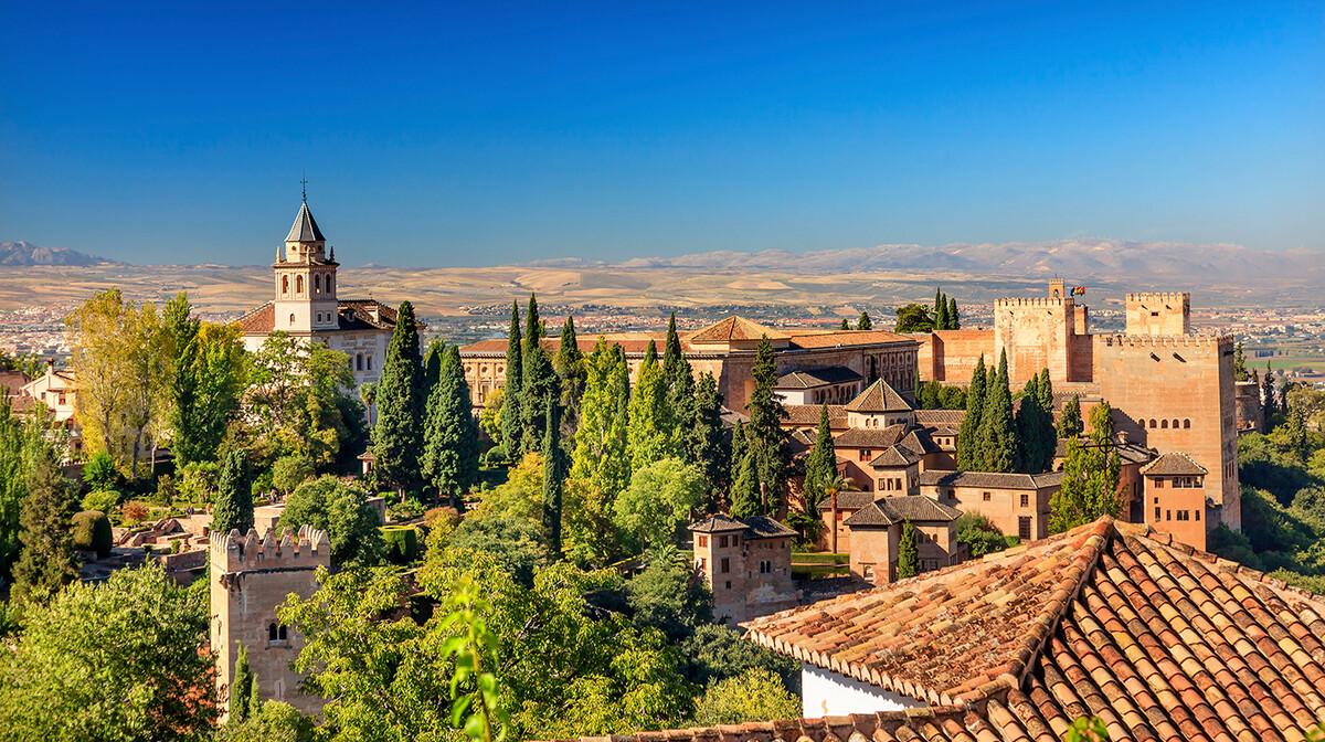 Palač Alhambra, putovanje u Andaluziju