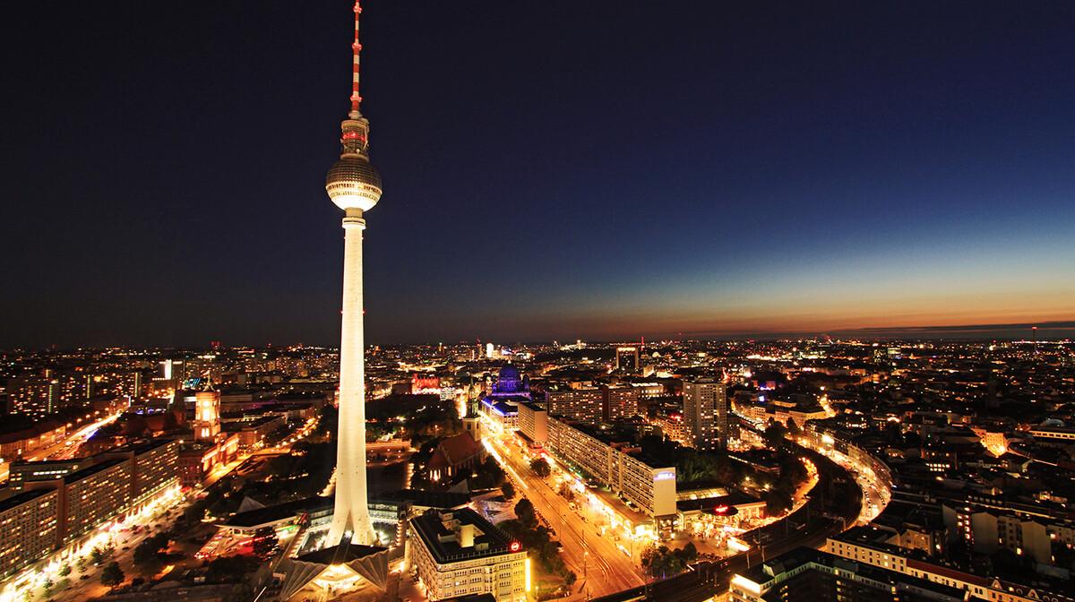 Berlin Alexanderplatz, centar bivšeg istočnog Berlina