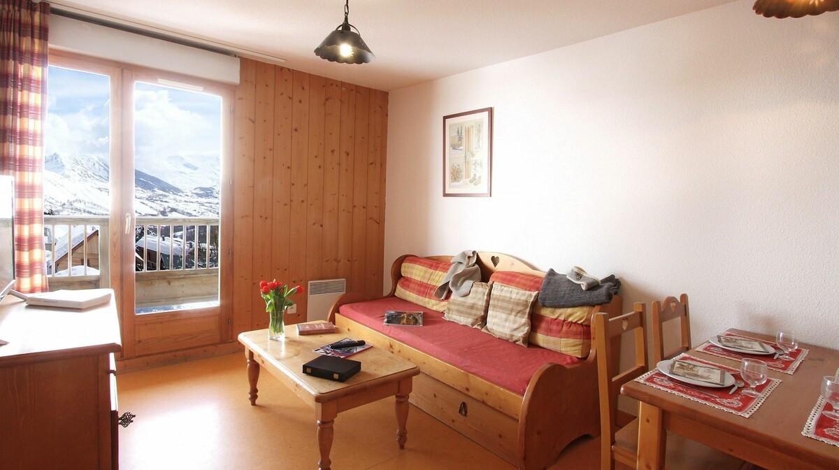 Les Chalets de la Porte des Saisons, primjer apartmana, skijanje, Francuska