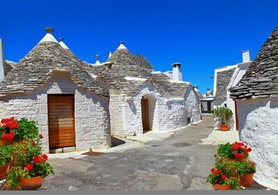 Apulia i Basilicata - Trulli houses, Alberobello