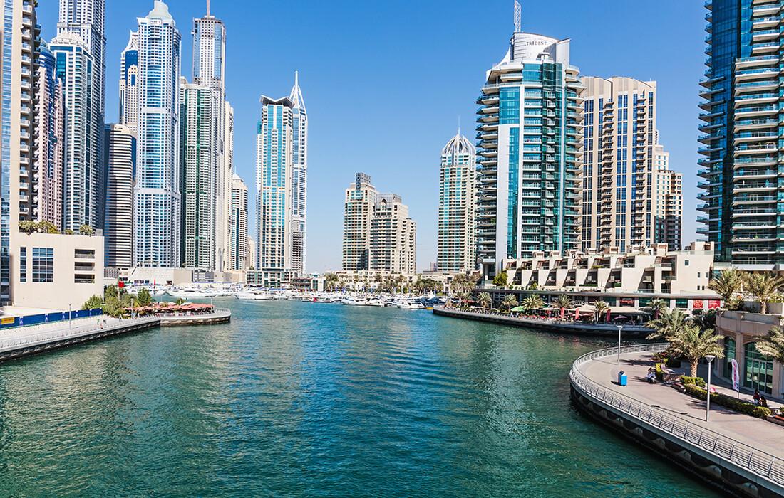 Dubai marina, putovanje u Dubai, garantirani polasci, mondo travel, daleka putovanja