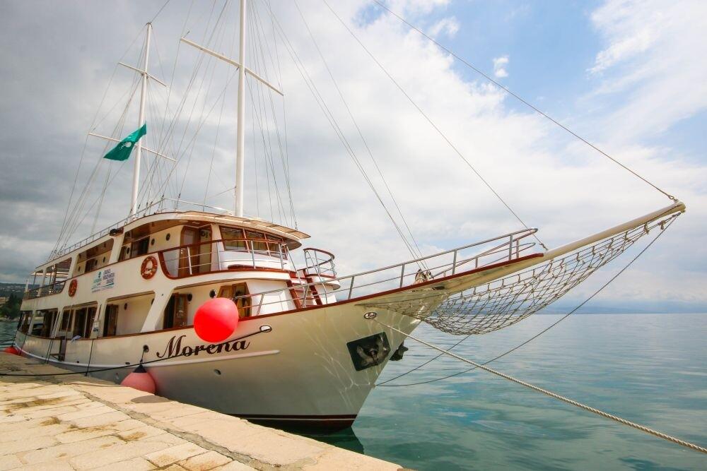 Krstrenje Jadranom brodom Morena, Katarina Line.