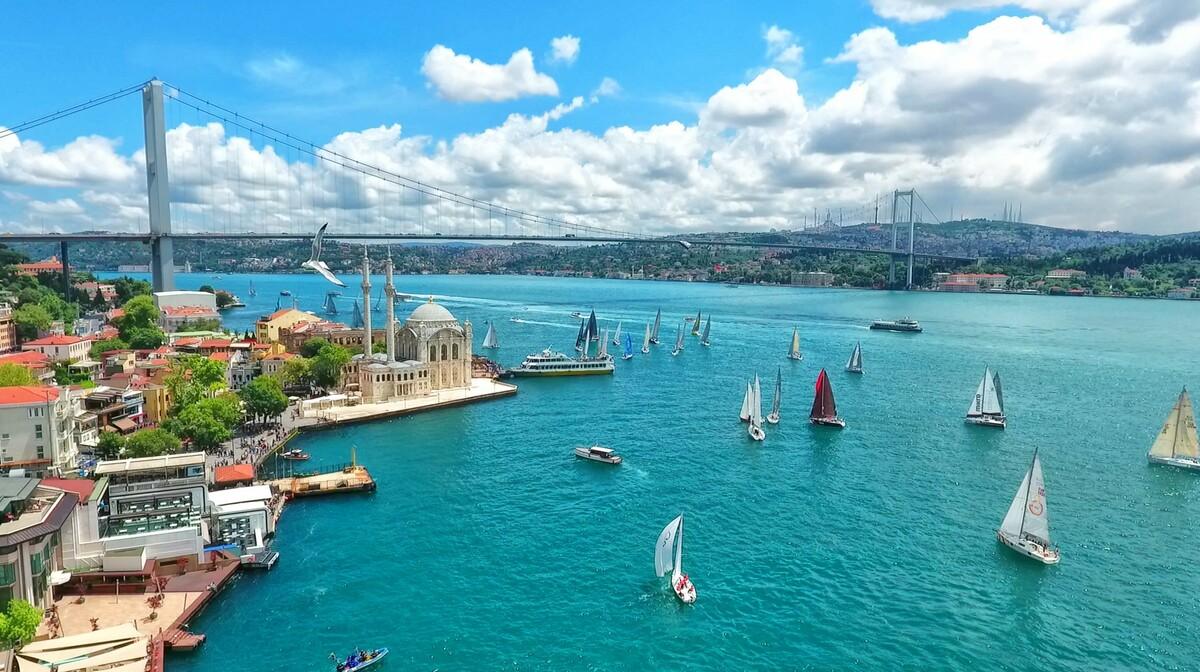 Bospor, Istanbul putovanje zrakoplovom
