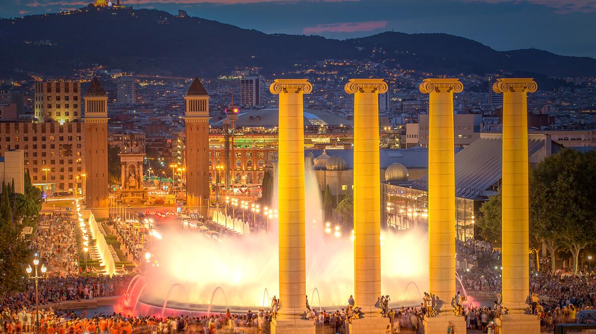 čarobne fontane, putovanje u Barcelonu, Španjolska, garantirani polasci