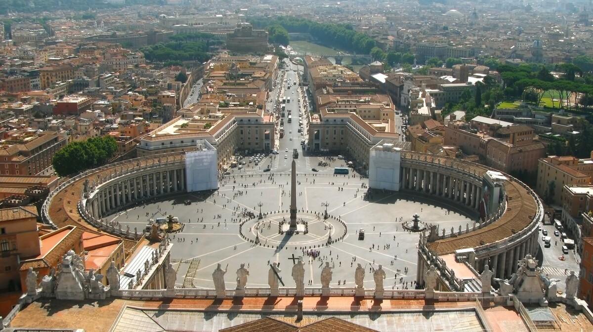 Vatikan, bazilika sv. petra, putovanje zrakoplovom u Rim