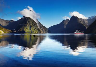 Novi Zeland, Nacionalni park Fiordland, Milford Sound