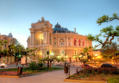 Ukrajina, Odesa, zgrada kazališta Opere