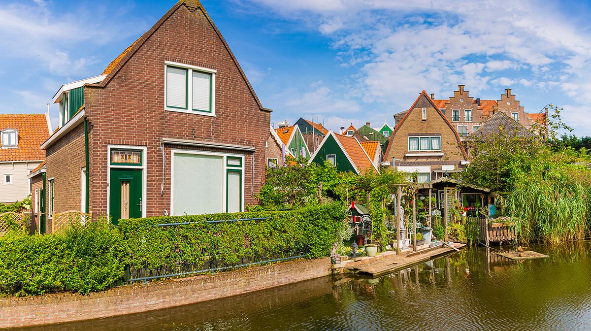 Tradicionalne nizozemske kuće u Volendamu, putovanje u Amsterdam i mala nizozemska tura