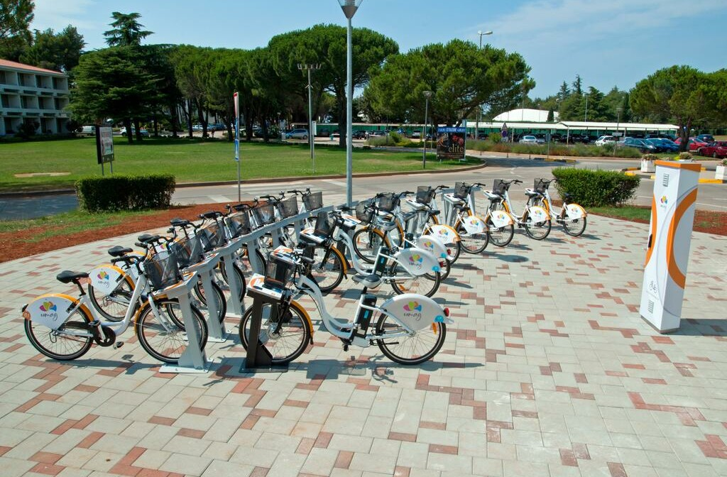 Umag, Hotel Sol Aurora, najam bicikla