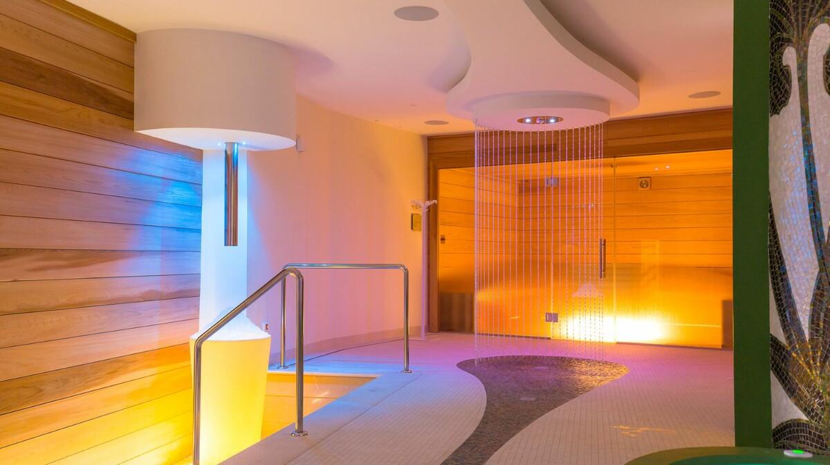 Saune u wellness centru Lafodia Sea Beach hotelu.