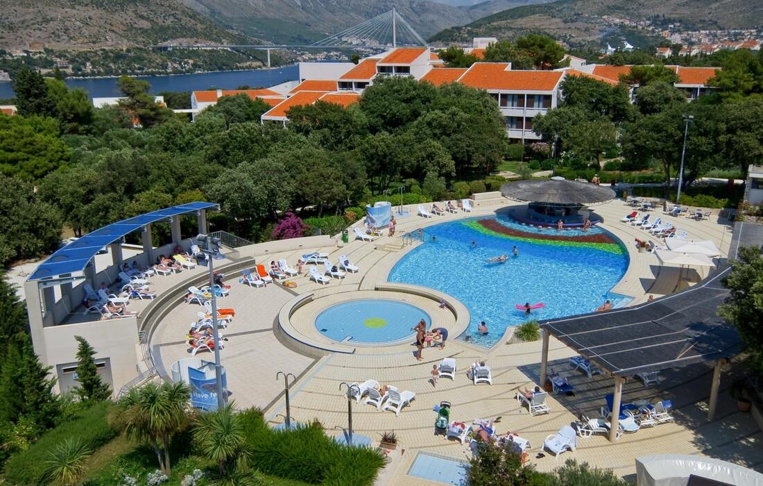 Dubrovnik Tirena Sunny Hotel vanjski bazen